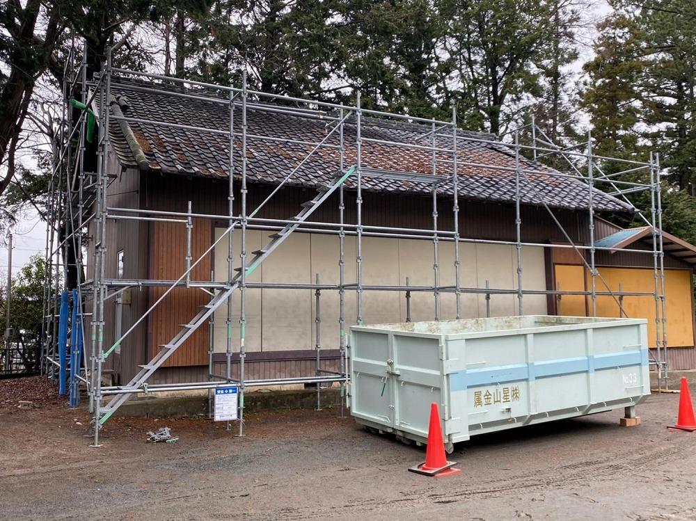 浜松市東区.某神社葺き替え工事