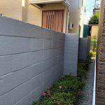 足立区 塀 塗装