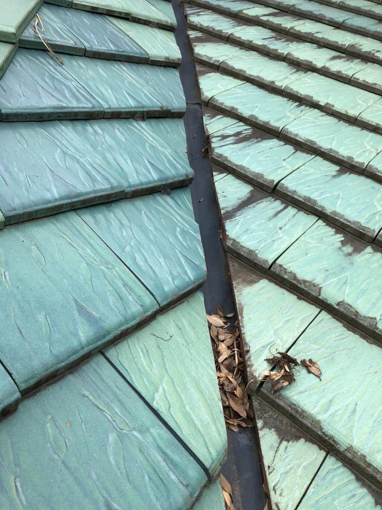 掛川市,雨樋のお掃除